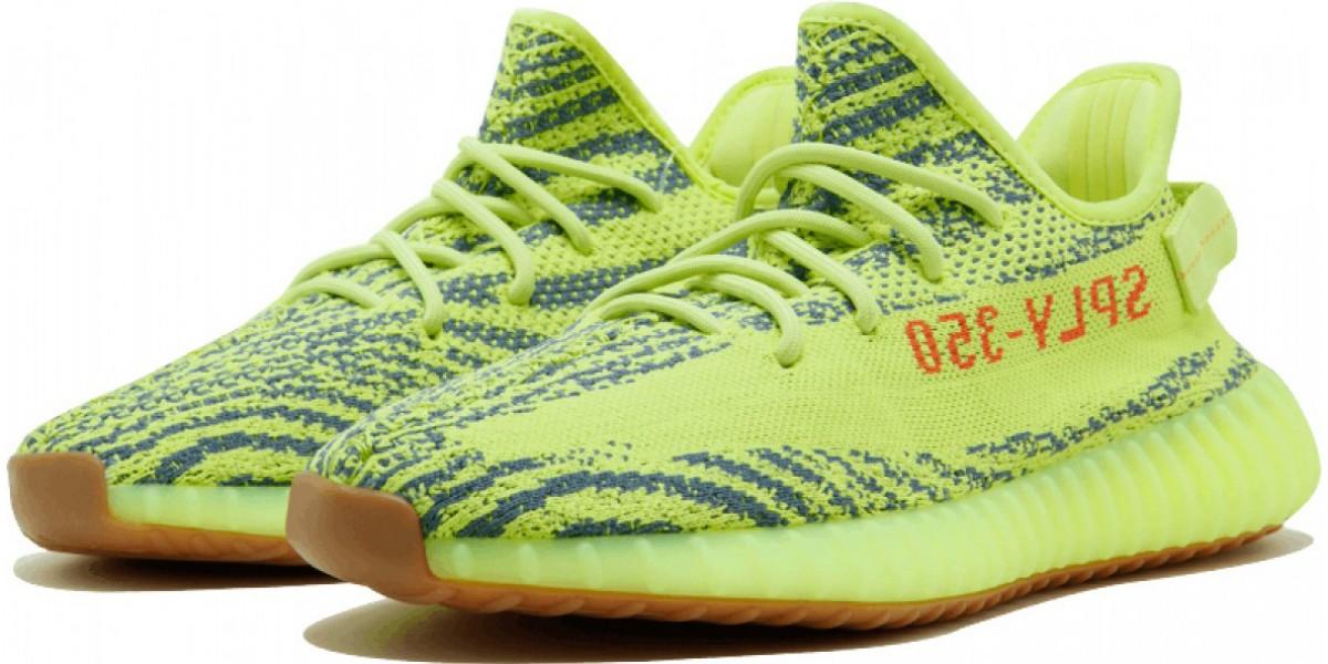 Adidas Yeezy Boost 350 Semi Frozen Yellow
