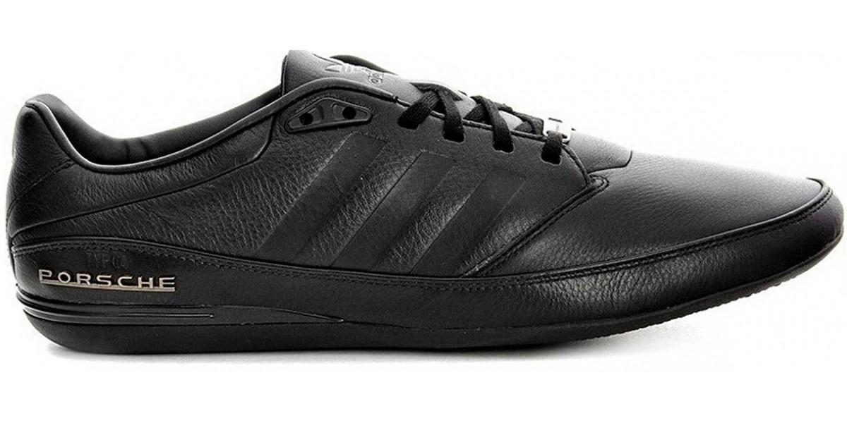 100% authentic ac91a 30d72 Adidas Porsche Design S3 Black Leather